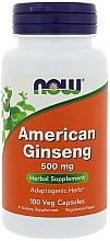 Kup Żeń-szeń amerykański 500 mg - Now Foods American Ginseng