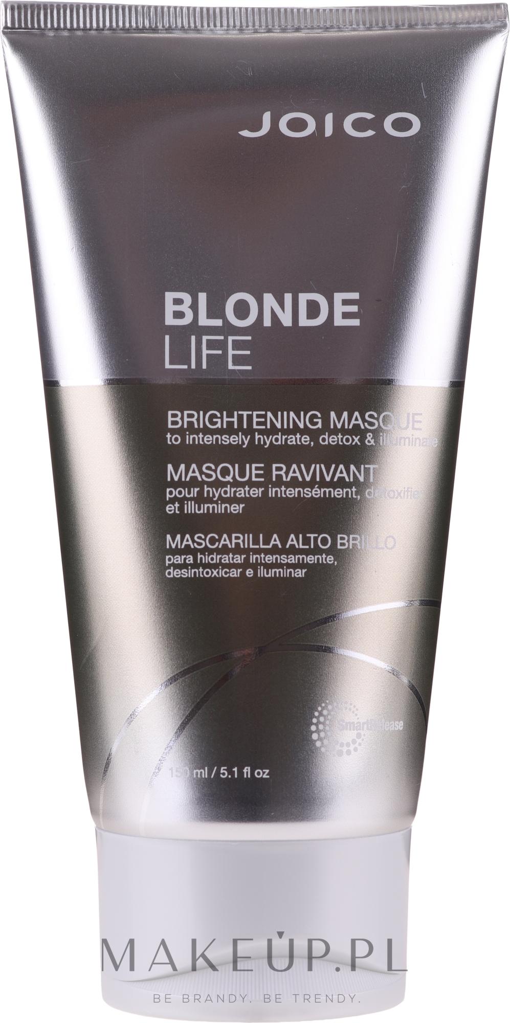 Rozświetlająca maska do włosów blond - Joico Blonde Life Brightening Mask — фото 150 ml
