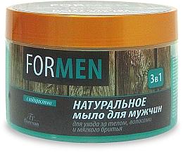 Kup Naturalne mydło dla mężczyzn do pielęgnacji ciała i włosów oraz delikatnego golenia - Floresan For Men