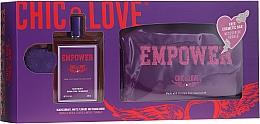 Kup Chic&Love Empower - Zestaw (edt 100 ml + bag)