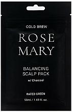 Kup Rewitalizująca maska do skóry głowy z węglem - Rated Green Cold Brew Rosemary Balancing Scalp Pack