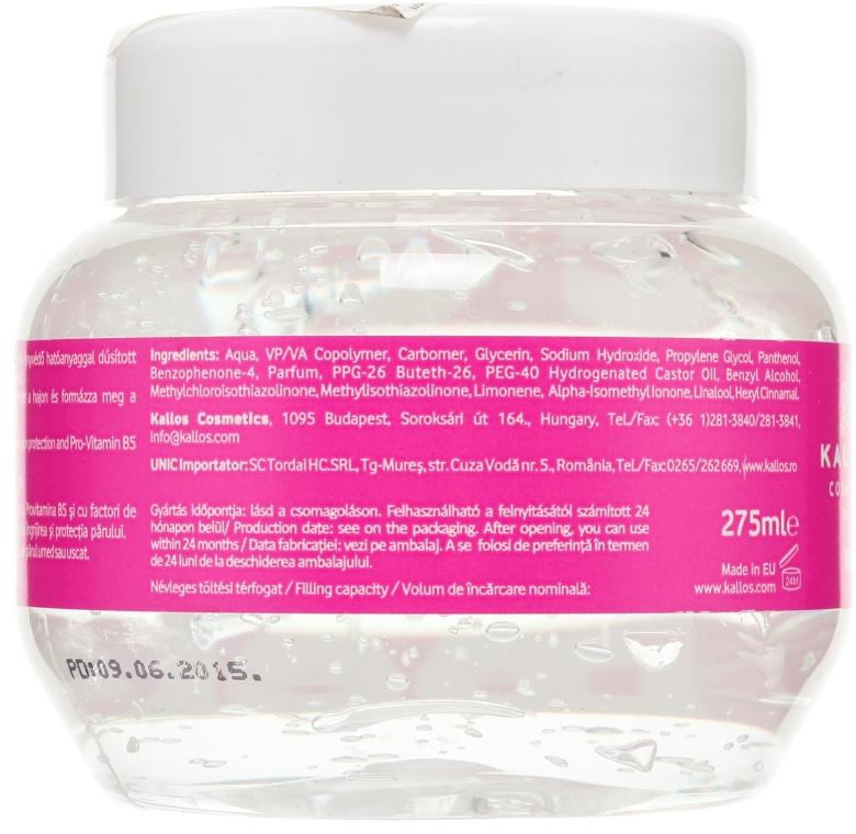 Żel do stylizacji dający efekt mokrych włosów - Kallos Cosmetics Wet Look Styling Gel  — фото N2