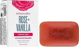 Kup Naturalne mydło w kostce Róża i wanilia - Schmidt's Naturals Bar Soap Rose Vanilla