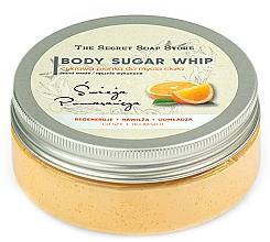 Kup Cukrowa pianka do mycia ciała, Świeża pomarańcza - The Secret Soap Store Orange Body Sugar Whip