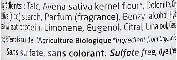Suchy szampon do włosów - Secrets De Provence Dry Shampoo All Types — фото N3