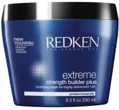 Kup Wzmacniająca maska do włosów zniszczonych - Redken Extreme Strength Builder Plus Fortifying Hair Mask