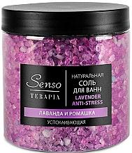 Kup Kojąca sól do kąpieli Lawenda i rumianek - Senso Terapia Lavender Anti-stress