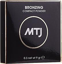 Kup Puder brązujący do twarzy - MTJ Cosmetics Bronzing Compact Powder