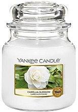 Kup Świeca zapachowa w słoiku - Yankee Candle Camellia Blossom