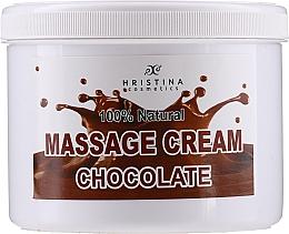 Kup Czekoladowy krem do masażu twarzy i ciała - Hristina Cosmetics Chocolate Massage Cream