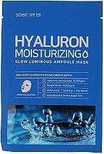 Kup Nawilżająca maska w płachcie do twarzy z kwasem hialuronowym - Some By Mi Hyaluron Moisturizing Glow Luminous Ampoule Mask