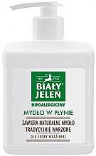 Kup Hipoalergiczne mydło w płynie - Biały Jeleń