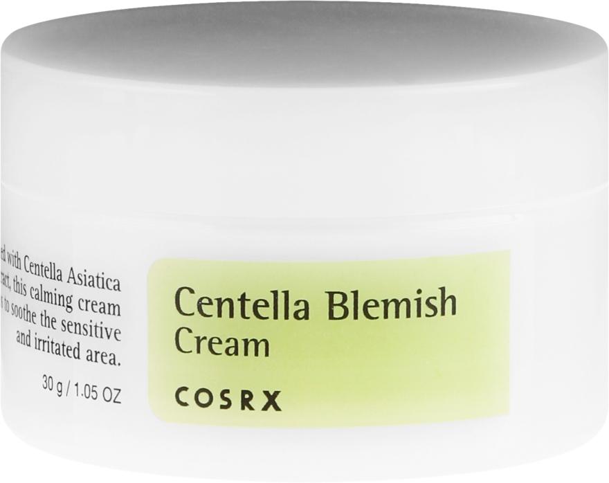 Kojący krem do twarzy z wąkrotą azjatycką - Cosrx Centella Blemish Cream — фото N2