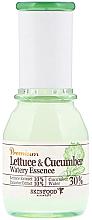Kup PRZECENA! Kojąca esencja do twarzy z liści sałaty i ogórka - Skinfood Premium Lettuce & Cucumber Watery Essence *