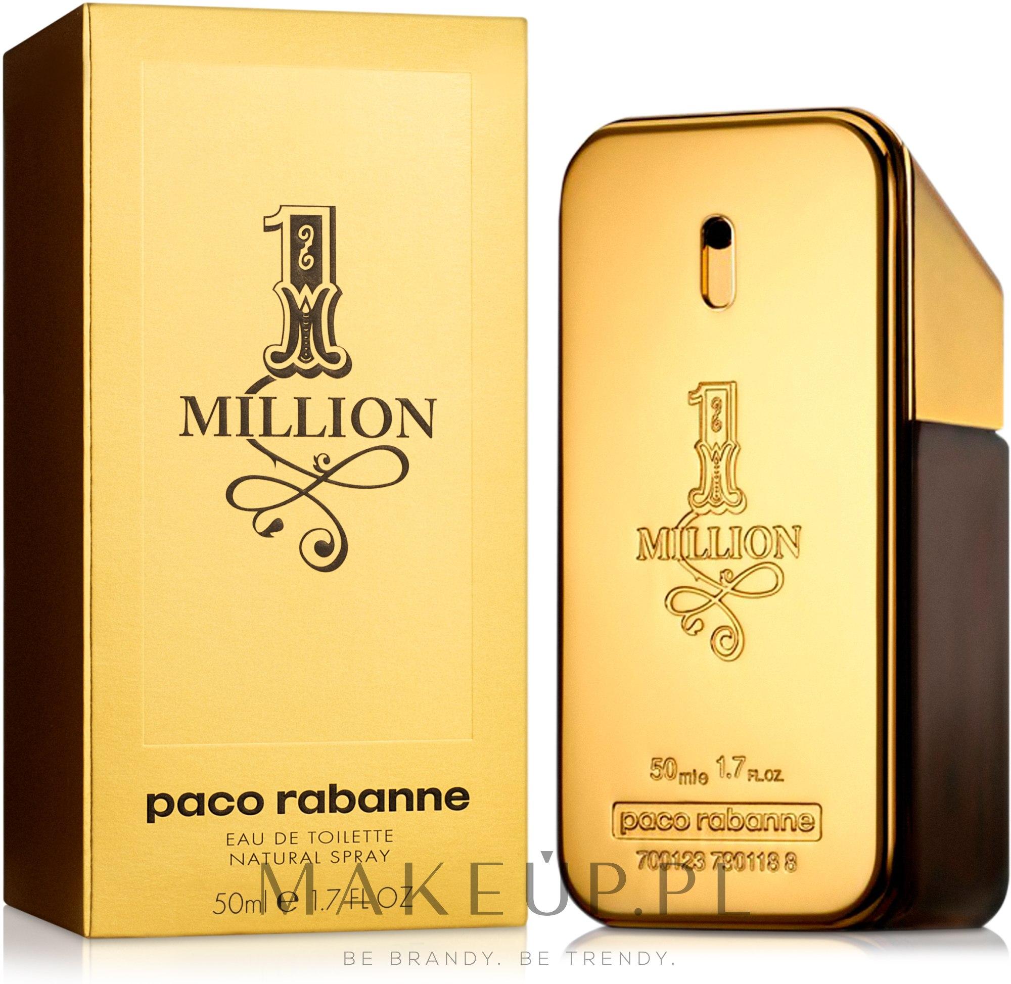 Paco Rabanne 1 Million - Woda toaletowa — фото 50 ml