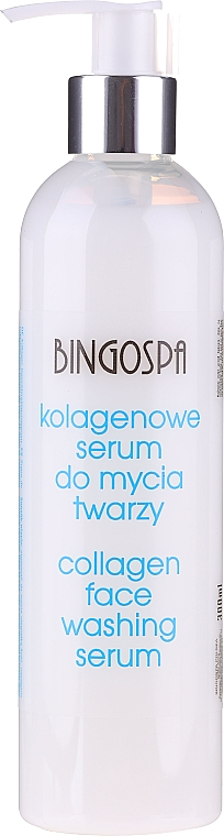 Kolagenowe serum do mycia twarzy - BingoSpa Collagen Serum Face Wash