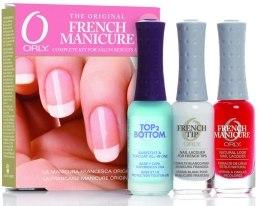 Kup Zestaw do francuskiego manicure - Orly French Manicure Kit Rose (Base Coat/9ml + Nail/2x9ml)