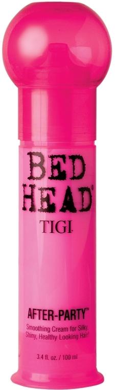 Wygładzający krem do włosów - TIGI Bed Head After Party Smoothing Cream