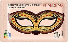 Kup Kolagenowa maska do okolic oczu - Purederm Carnival Look Eye Gel Mask Sexy Leopard
