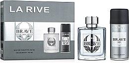 Kup La Rive Brave Man - Zestaw (edt/100ml + deo/150ml)