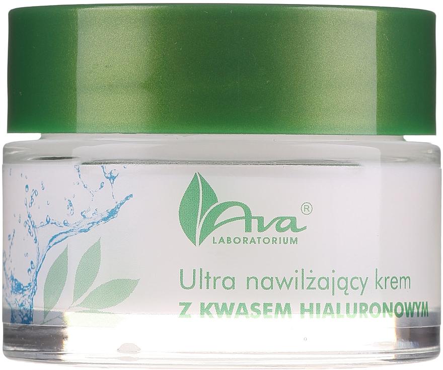 Ultranawilżający krem z kwasem hialuronowym - AVA Laboratorium Ultra Moisturizing Hyaluronic Cream