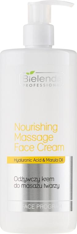 Odżywczy krem do masażu twarzy - Bielenda Professional Face Program Nourishing Massage Face Cream