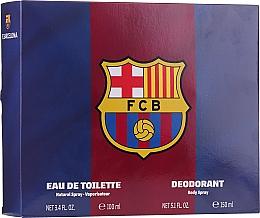 Kup Air-Val International FC Barcelona - Zestaw (edt 100 ml + deo 150 ml)