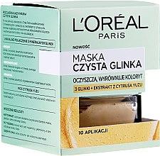 Kup Maska do twarzy Czysta glinka z ekstraktem z yuzu - L'Oreal Paris Skin Expert Mask
