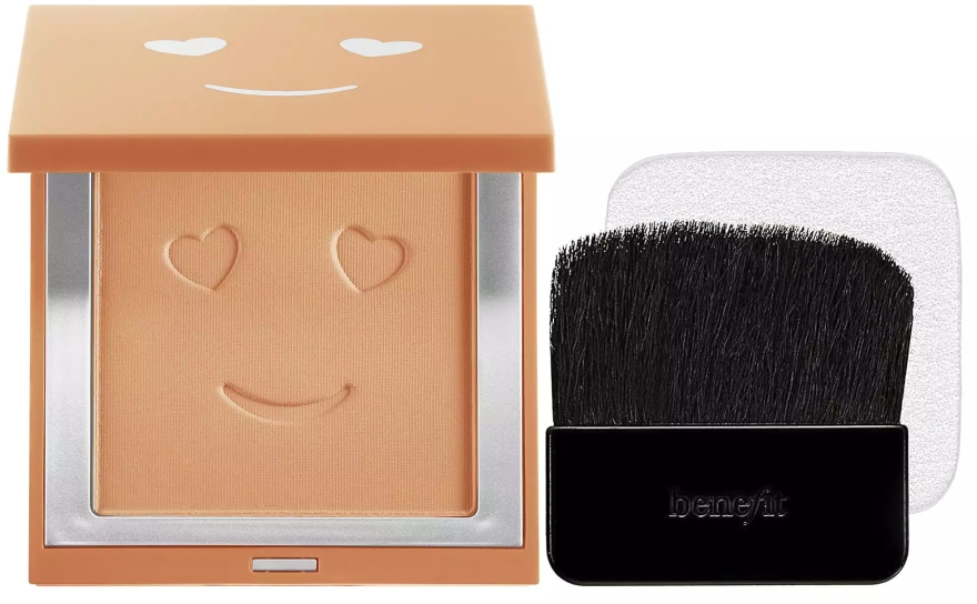Podkład w pudrze do twarzy - Benefit Hello Happy Velvet Powder Foundation — фото N2