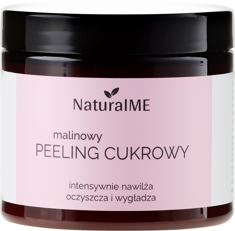 Malinowy peeling cukrowy - NaturalME