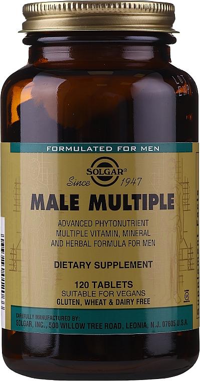 Witaminy dla mężczyzn - Solgar Male Multiple — фото N3
