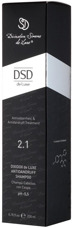 Szampon przeciwłupieżowy No 2.1 do włosów - Simone DSD De Luxe Dixidox DeLuxe Antidandruff Shampoo — фото N3