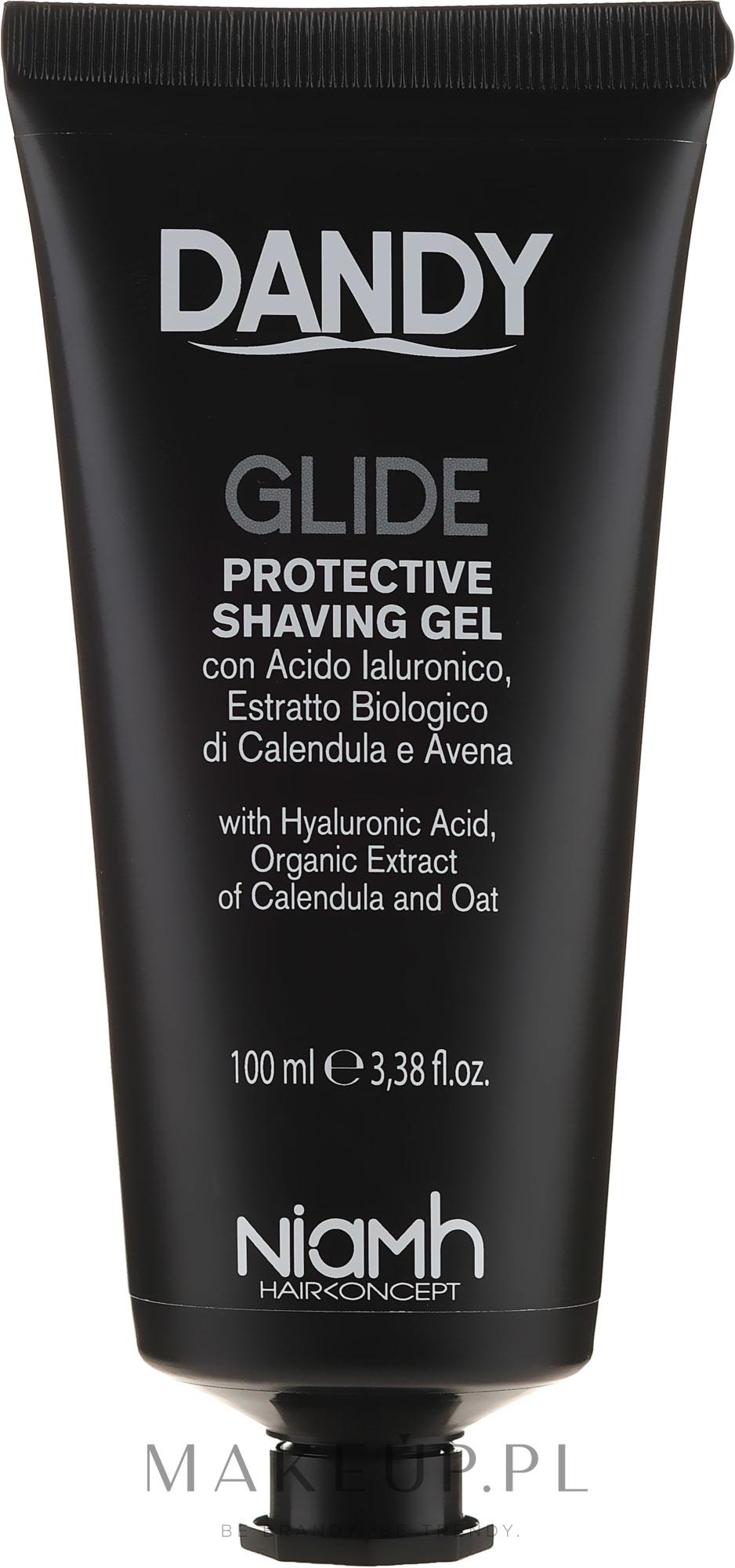 Ochronny żel do golenia - Niamh Hairconcept Dandy Glide Protective Shaving Gel — фото 100 ml