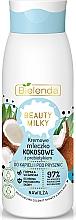 Kup Kremowe mleczko do kąpieli i pod prysznic - Bielenda Beauty Milky Moisturizing Coconut Shower & Bath Milk