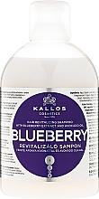 Kup Rewitalizujący szampon do włosów Ekstrakt z czarnej jagody i olej awokado - Kallos Cosmetics Blueberry Hair Shampoo
