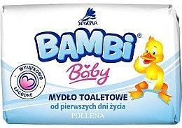 Kup Mydło toaletowe dla dzieci od pierwszych dni życia - Bambi Baby