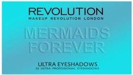 Paleta cieni do powiek - Makeup Revolution Ultra 32 Shade Palette Mermaids Forever — фото N2