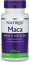 Kup Maca dla zdrowia mężczyzn, 500 mg - Natrol Maca Men's Healh