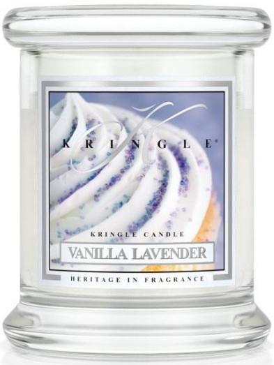 Świeca zapachowa w słoiku - Kringle Candle Vanilla Lavender — фото N1