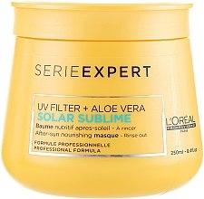 Kup Odżywcza maska do włosów po ekspozycji na słońce - L'oreal Professionnel Serie Expert Solar Sublime UV Filter + Aloe Vera