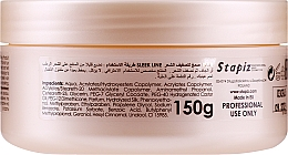 Guma z jedwabiem do stylizacji włosów - Stapiz Sleek Line Styling Gum With Silk — фото N2