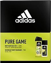 Kup Adidas Pure Game - Zestaw (edc 75 ml + sh/gel 250 ml)
