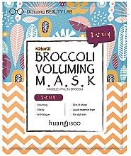 Kup Wzmacniająca maseczka w płachcie do twarzy z brokułem - Huangjisoo Broccoli Voluming Mask