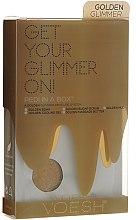 Kup Zestaw do pedicure - Voesh Deluxe Golden Glimmer Pedi In A Box 5 in 1