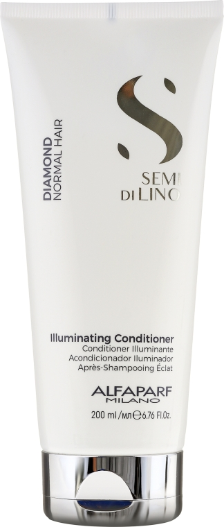 Odżywka do włosów - Alfaparf Semi di Lino Diamond Illuminating Conditioner