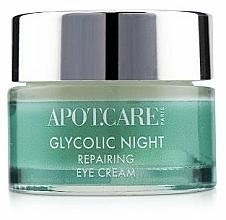 Kup Regenerujący krem pod oczy na noc - APOT.CARE Glycolic Night Eye Cream