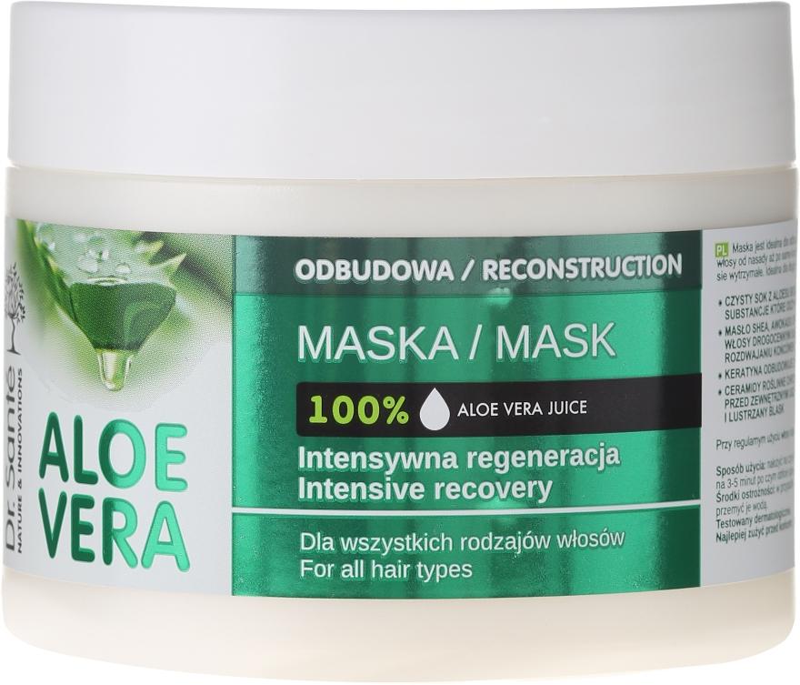 Intensywnie regenerująca maska odbudowująca do włosów - Dr. Sante Aloe Vera