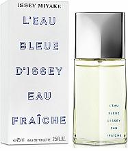 Issey Miyake L'Eau Bleue D'Issey Eau Fraiche - Woda toaletowa — фото N2