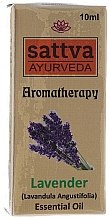 Kup Olejek lawendowy - Sattva Ayurveda Aromatherapy Lavender Essential Oil