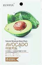 Kup Nawilżająca maska na tkaninie z awokado - Eunyul Natural Moisture Mask Pack Avocado